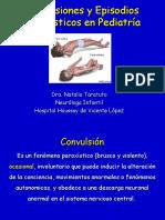 Convulsiones y Epilepsia en Pediatría