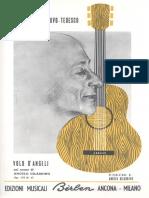 Tedesco, Mario Castelnuovo - Volo D'Angeli