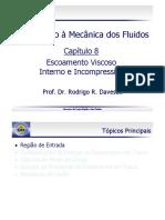 Mecanica dos Fluidos - Escoamento Viscoso Interno e Incompressível