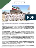 28-05-16 Pavlovich y Soberón botan buque construido en Sonora. -SDP noticias