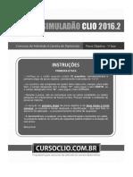 Simuladão 2016.2 - (1ª Etapa) - Caderno de Questões
