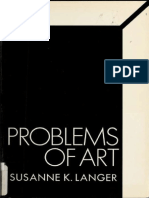 Problems of Art; Ten Philosophical Lectures