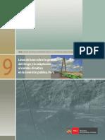 Linea de Base Sobre GdR SNIP 9
