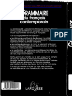 94348384b6be77 Larousse Grammaire Du Francais Contemporain