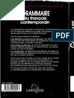 Larousse Grammaire Du Francais Contemporain