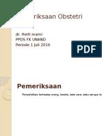Pemeriksaan Obstetri power point