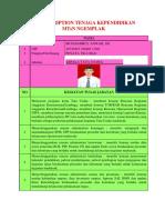 Job Description Tenaga Kependidikan MTsN Ngemplak 2016