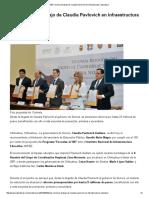 26-05-16 SEP reconoce trabajo de Claudia Pavlovich en infraestructura educativa. -SDP noticias
