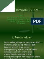 KEBUDAYAAN ISLAM