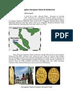 Peninggalan kerajaan islam di Indonesia.pdf