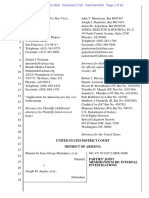 Melendres # 1715 Joint Submission Re Internal Investigations