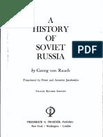 HistoryOfSovietRussia-GeorgVonRauch