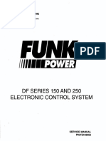 Df Series 150 and 250 Electron Control System Ser. Man. Pn-yz103052