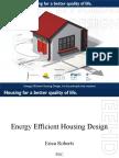 Energy Efficient Housing Design