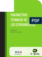 Parametros Termicos de Los Cerramientos