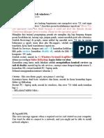 Mengatasi Error 711 Di Windows 7