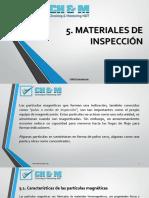 5. Materiales de Inspección