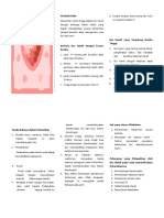 Leaflet Kehamilan Resiko Tinggi