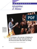 Ch. 2 Pantomime and Mime 2cfyltr