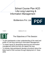 Life-Long Learning and Information Management-1 Hr