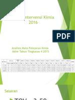 Pelan Intervensi Kimia SPM 2016 penggal 1 .ppt
