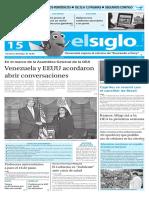 Edición Impresa El Siglo 15-06-2016