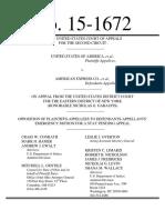 Amex Appeal; Doj Grounds, Filed June 5 2015