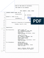 Certified Transcript Hearing 6-23-15 - Cohen v. Lynch