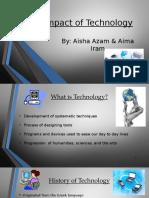 azam iram impactoftechnologypowerpoint  1