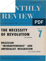 Ruy Mauro Marini - Brazilian Interdependence and imperialist integration
