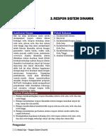 3. Respon Sistem Dinamik