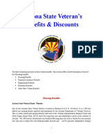Vet State Benefits & Discounts - AZ 2016
