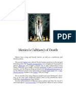 Mexico's Cult(ure) of Death