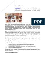 Ciri Ciri Penyakit Kutil Kelamin HPV Kondiloma