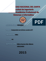 Informe Compresion Lz77 Albino Huertas