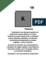 Trabalho Física Potássio