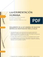 Experimentación Humana Nuevo