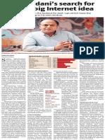 Bikhchandani's Search for Nxt Big Idea