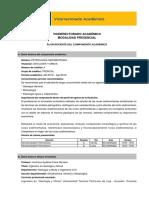 Plan Petrología Sedimentaria