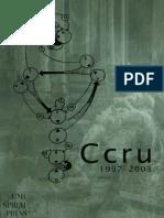 Ccru Ccru Writings 19972003