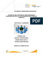 Guia e Mediador Version 1-0 Marzo 10-2014 Estilo