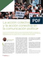 La acción colectiva y la acción conectiva en la comunicación política