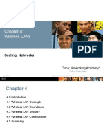 ScaN InstructorPPT Chapter4 Wireless LANs
