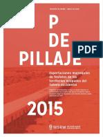 P de Pillaje - 2015