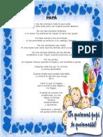 Poema Dia Del Padre