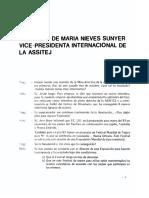 Interview de Maria Nieves Sunyer Vice Presidenta Internacional de La Assitej