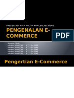 Presentasi Pengenalan E-Commerce