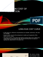 Long-Run Cost of Production