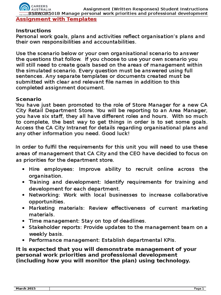 Bsbwor501 assignment with templates stacey mclean 3 competence bsbwor501 assignment with templates stacey mclean 3 competence human resources goal fandeluxe Images