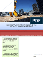 Residential Construction in the UAE to 2019 Market Forecast-PPT